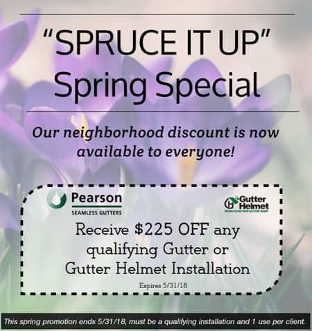 Spruce it Up 2018 Spring Special