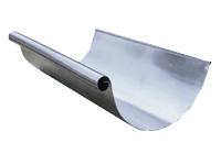 half round aluminum gutters