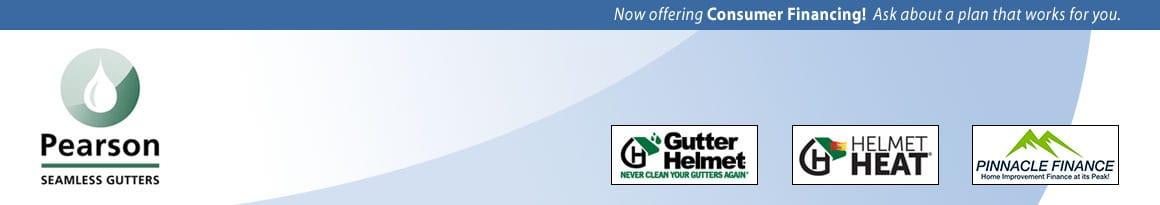 Pearson Seamless Gutters Logo
